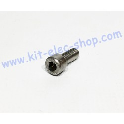 CHC screw M8x20 stainless...