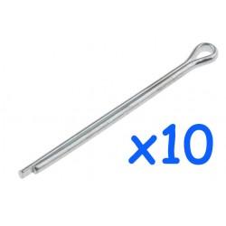 Split pin 1.6x25.4mm set of 10