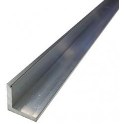 Raw aluminum angle...