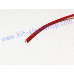 Red flexible FLRYW-A 1mm2...