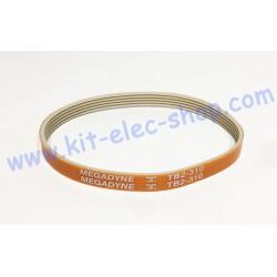 TB2-310-5 belt width 5 grooves