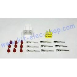 Kit connecteur mâle 9 broches