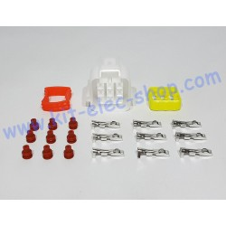 9-pin female connector kit