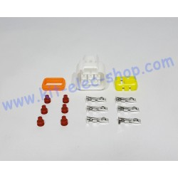 6-pin female connector kit