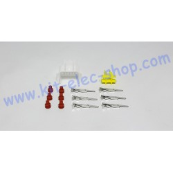 6-pin male connector kit