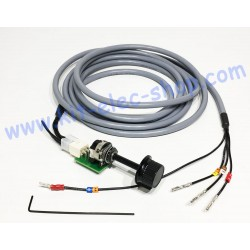 Cable and MOLEX throttle...