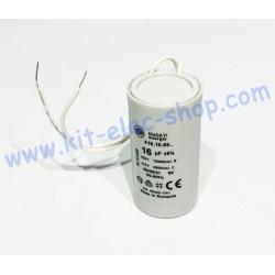 Start-up capacitor 16uF...