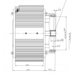 Synchronous motor ME1504...
