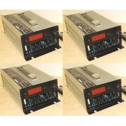 Set of 4 chargers 12V 40A...