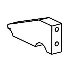 Angle flange for kart motor...