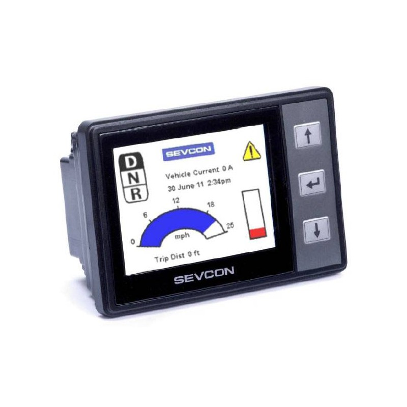 SEVCON Clearview digital display 604-90010
