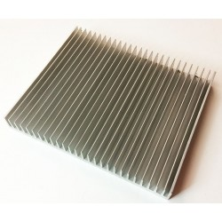 Aluminium heatsink 200x16x25mm