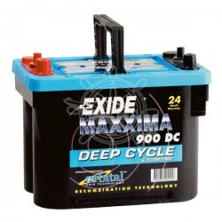 Lead battery EXIDE 12V 50Ah...