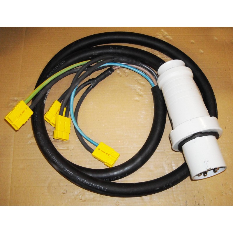 Cable For 4 Chargers 12v In Sb50 With Pk63a Plug 10m