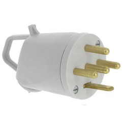 Male Plug 3P+N+T 20A 380V...