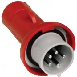 Male Plug 16A 380V-415V Red...