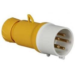 Male plug 32A 100V-130V...