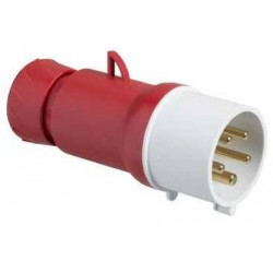 Male Plug 3P+N+T 32A...
