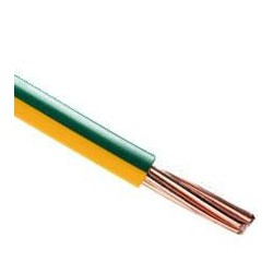 Yellow-Green flexible 4mm2...