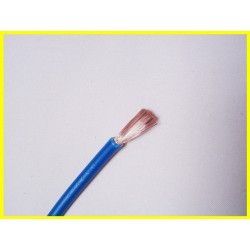 Blue flexible 4mm2 cable...
