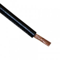 Black flexible 4mm2 cable...
