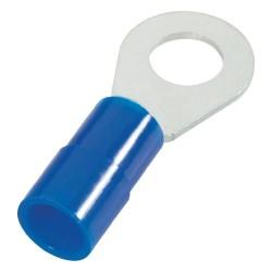 Cosse à oeillet 6mm bleue...