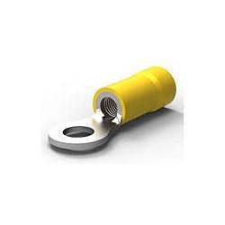 Yellow 5mm ring crimp...