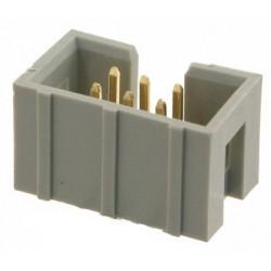 Connecteur embase droit mâle 6 broches 2.54mm